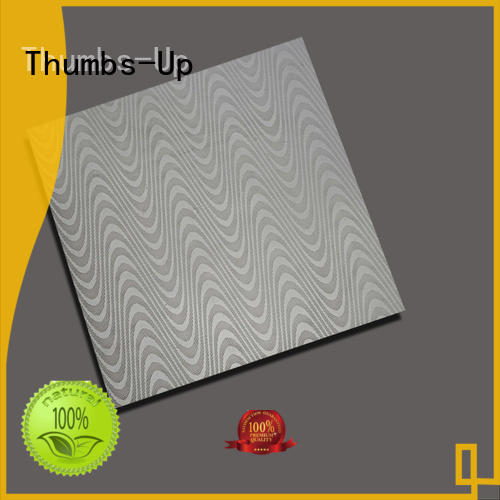 Thumbs-Up rotary stainless steel tread plate cube for elevator