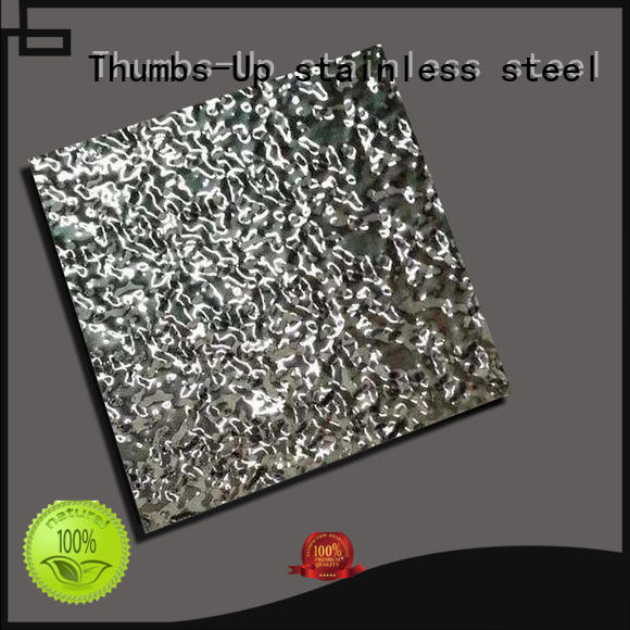 Thumbs-Up 304 checker plate steel manufacturer for signboard