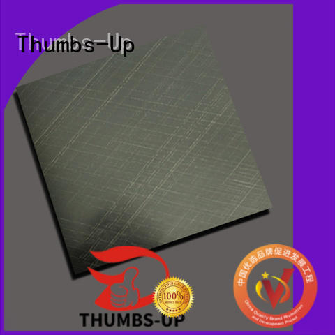 titanium Custom copper drawing stainless steel plate Thumbs-Up make