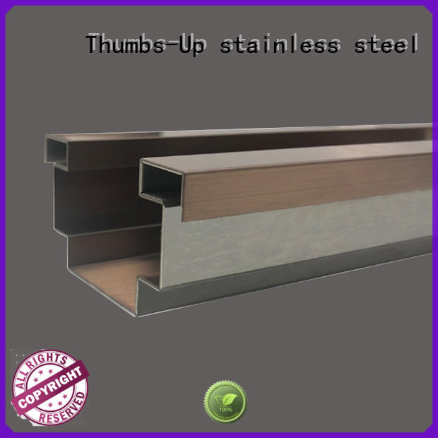 rose stainless steel transition strip 8k Thumbs-Up company