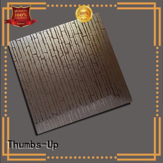 stainless steel chequer plate corrugated cube Thumbs-Up Brand company