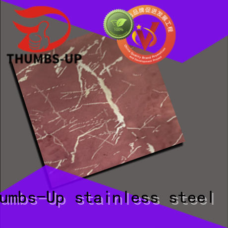 emerald copper rose Thumbs-Up Brand stainless steel plate supplier
