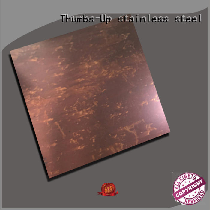 decorative decorative stainless steel sheet bronze design for store