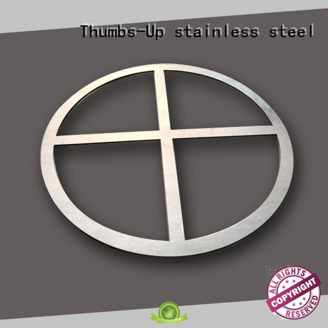 Thumbs-Up steel acrylic cutting service customized for outdoor