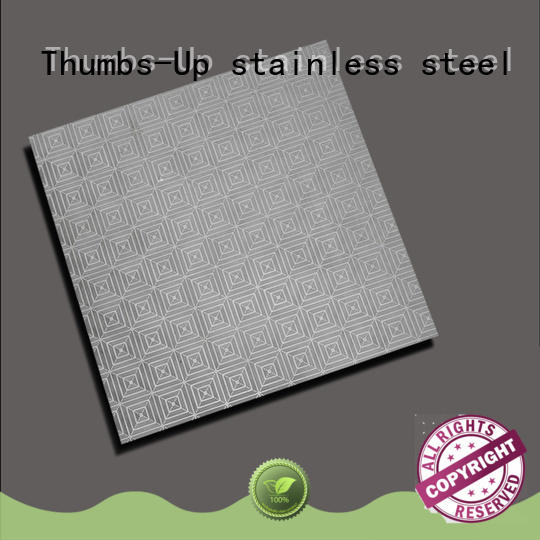 Thumbs-Up large stainless steel sheet metal cost customized for building