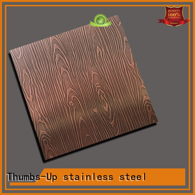 Thumbs-Up 304 acid etching steel wholesale for lobby