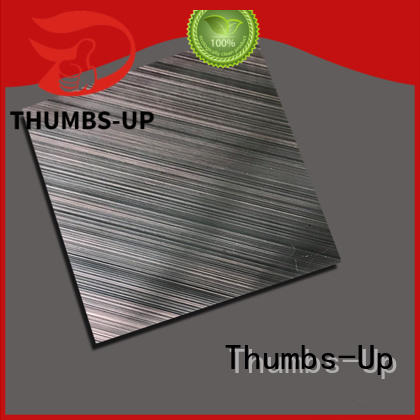 Hot gold stainless steel sheet cost grain blue Thumbs-Up Brand