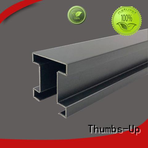 Customized black titanium stainless steel edge wrapping