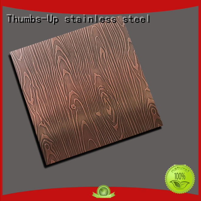 Thumbs-Up red metal etchants customized for ceiling