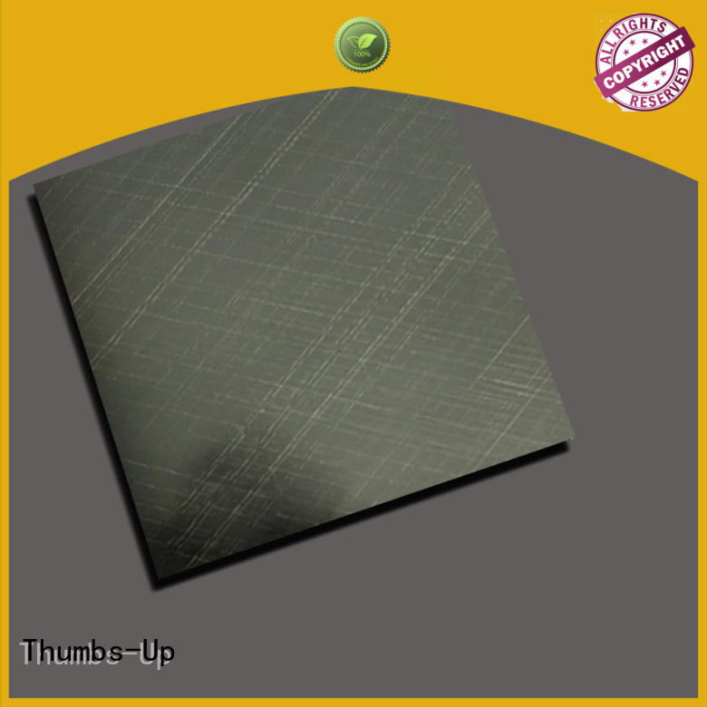 vintage stainless steel corrugated sheet gold customized for club