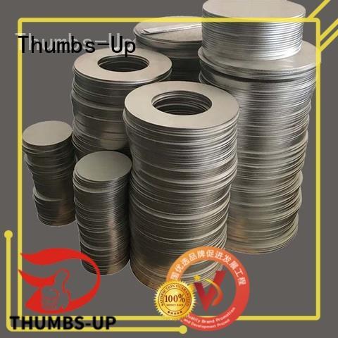 Thumbs-Up circular sheet metal laser cutting customized for building