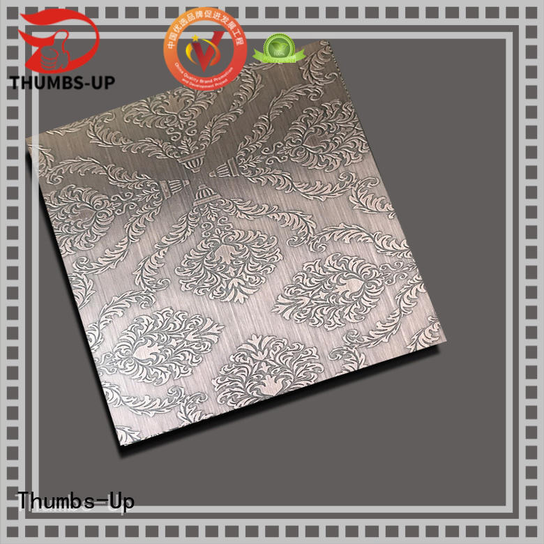 316 steel carving machine cloth design for ceiling