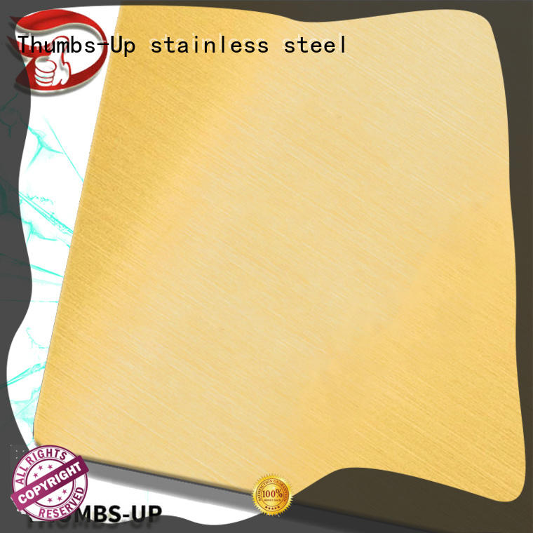 Thumbs-Up coating stainless steel plate grades supplier for lobby