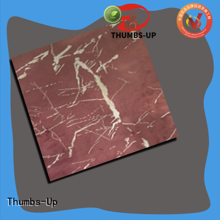 copper stainless steel wall panels design for store Thumbs-Up