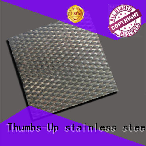 rotary patterned sheet metal stripe customized for building