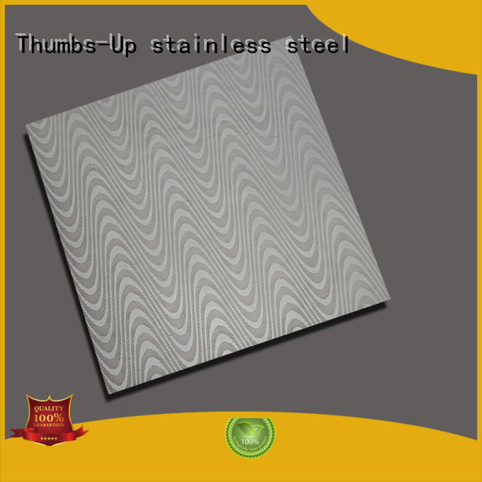 Thumbs-Up Brand water willow luck stainless steel diamond plate