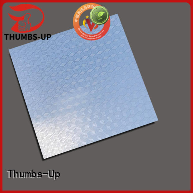 Thumbs-Up rotary stainless steel plate price sheet for signboard