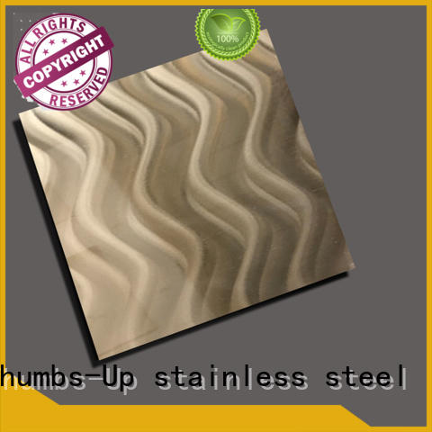 Thumbs-Up decorative stainless steel plate wholesale for store