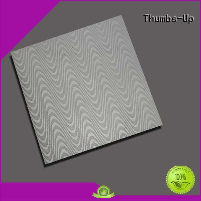 Thumbs-Up corrugated steel diamond plate sheets 4x8 wholesale for signboard