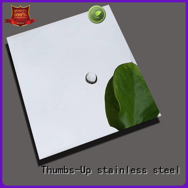 Wholesale green manufacture polished stainless steel sheet Thumbs-Up Brand