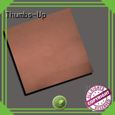 Hot stainless steel sheet cost gold Thumbs-Up Brand