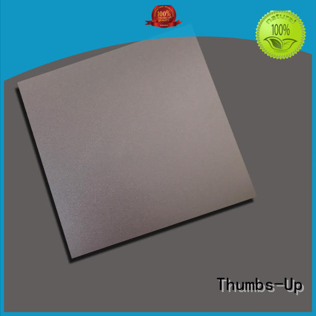 brown gold stainless steel sheet cut to size grain blue Thumbs-Up Brand