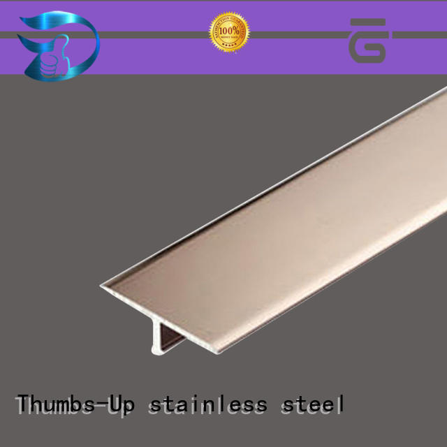 stainless steel transition strip customized golden Bulk Buy edge Thumbs-Up