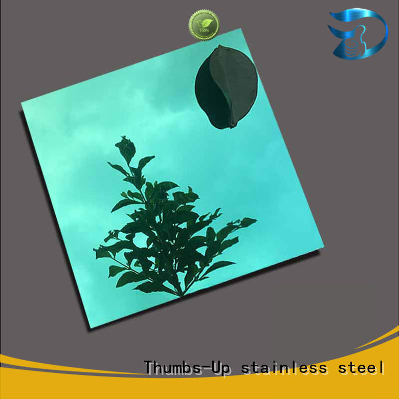 decoration laser polished stainless steel sheet emerald Thumbs-Up