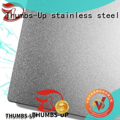 Thumbs-Up coating 310 stainless steel plate supplier for hotel