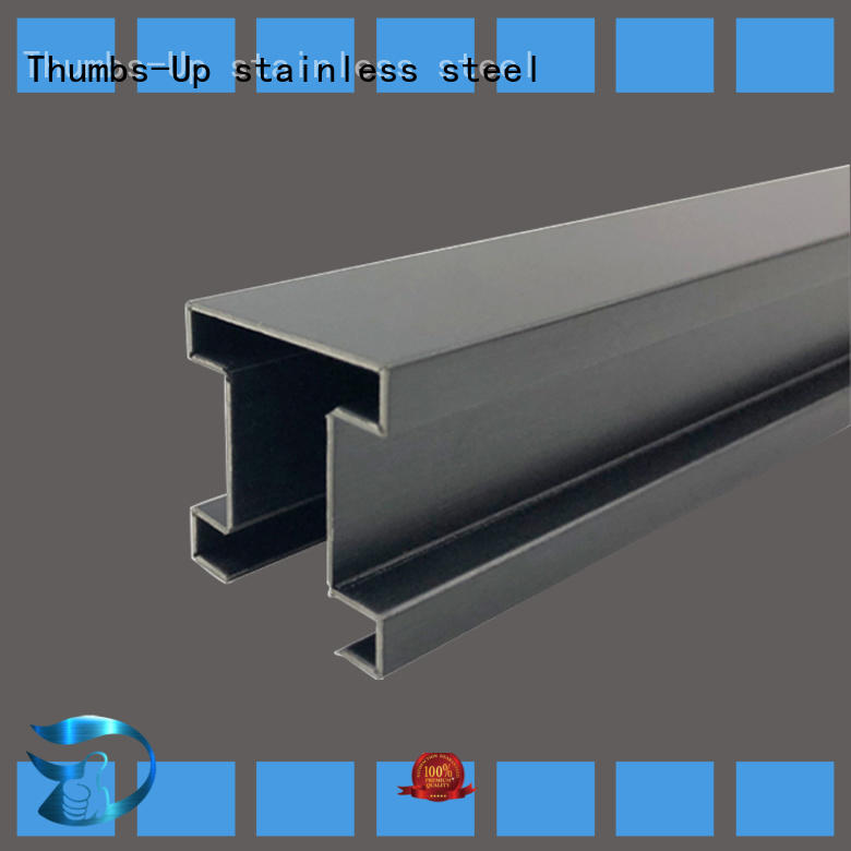 Thumbs-Up Brand slot card stainless steel transition strip polygon supplier