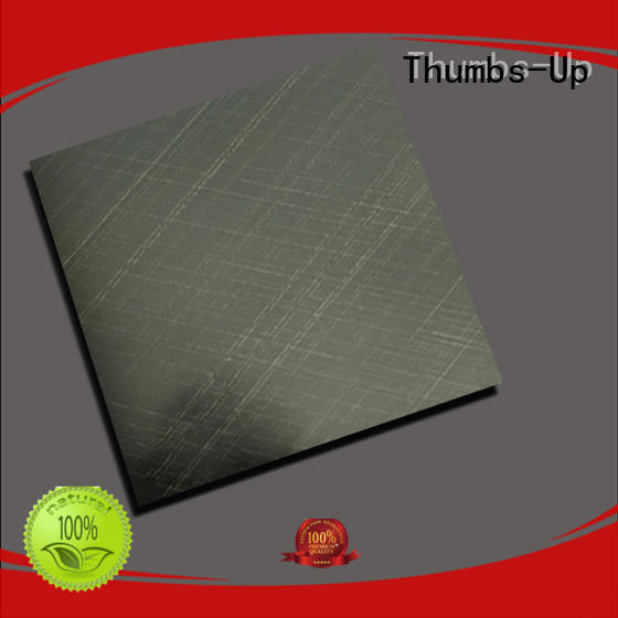 Thumbs-Up nano mirror polished stainless steel sheet supplier for club