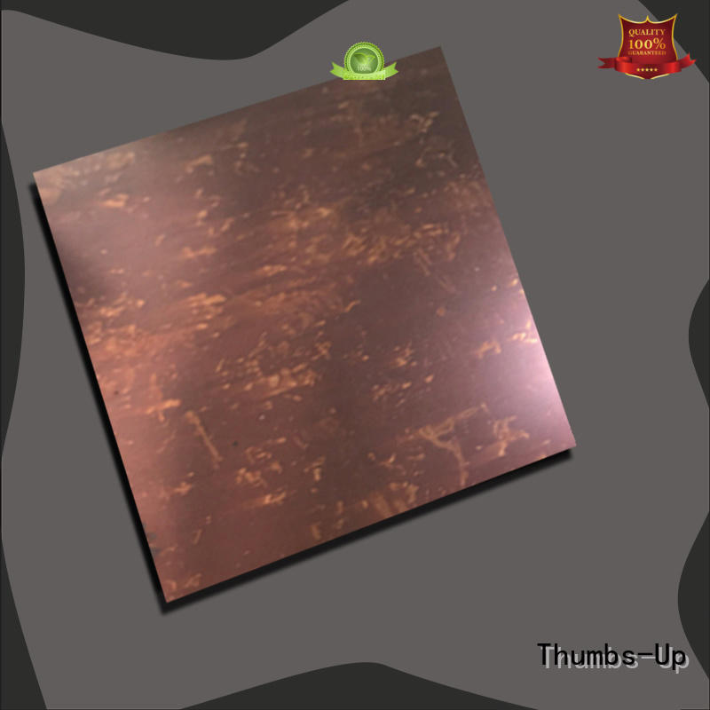 Thumbs-Up emerald stainless steel sheet grades design for club