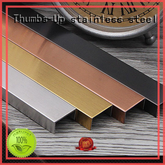 gold metal edge trim copper for villa Thumbs-Up