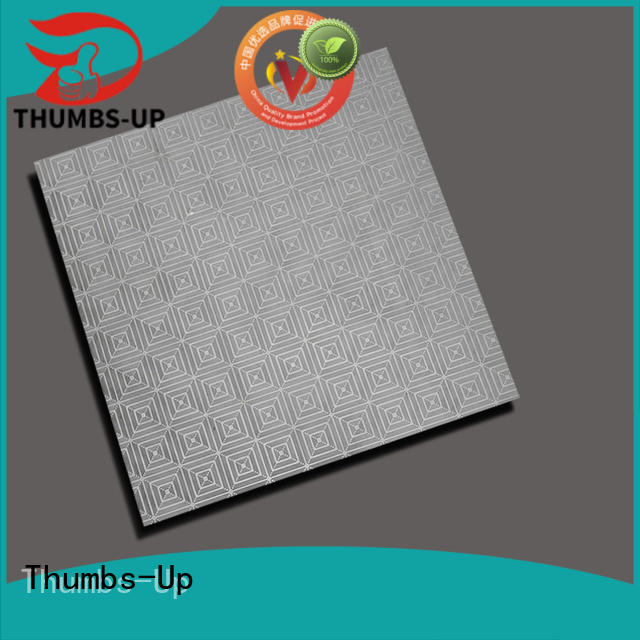 Thumbs-Up cloud corrugated stainless steel sheet metal design for building