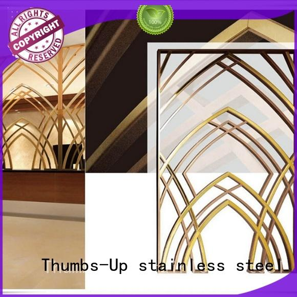stainless steel decorative panels hollow for villa Thumbs-Up
