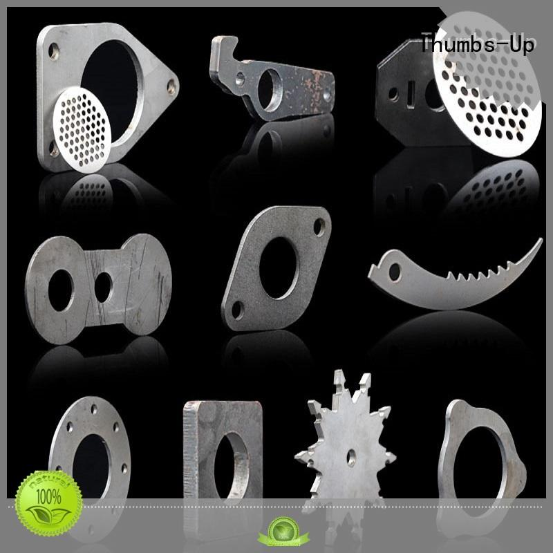Thumbs-Up circular laser cut steel panels manufacturer for building