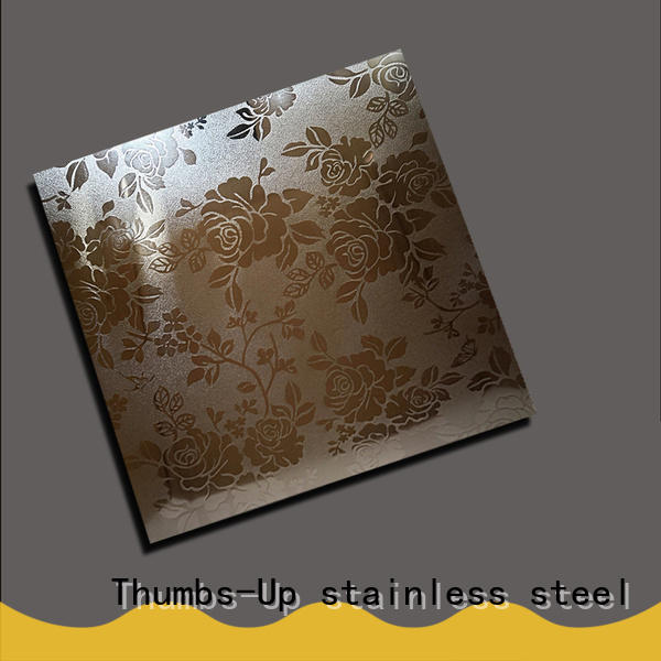 rotary small stainless steel sheet gold supplier for elevator