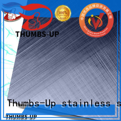 Thumbs-Up decorative steel plate supplier for lobby