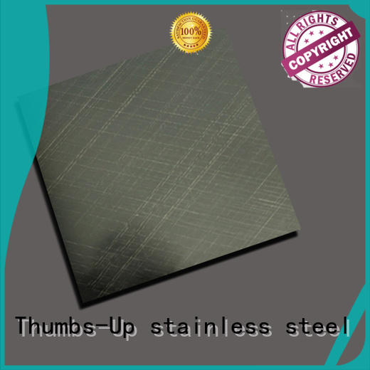 Thumbs-Up decorative stainless steel sheet design for building