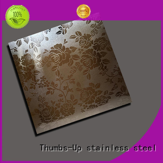 Thumbs-Up lotus decorative stainless steel sheet suppliers supplier for building