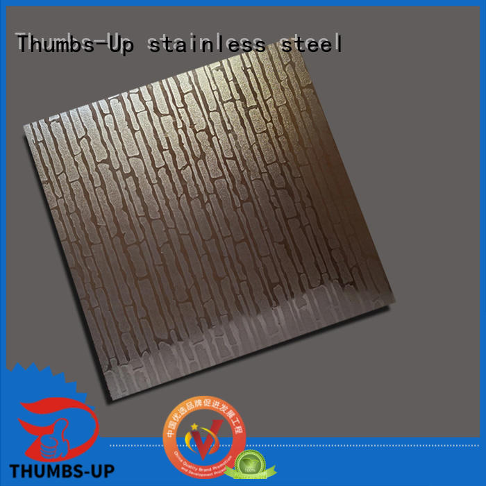 embossing decorative stainless steel sheet metal supplier for building Thumbs-Up