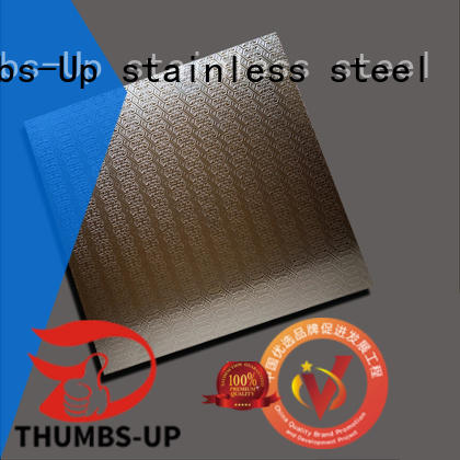Thumbs-Up corrugated patterned sheet metal peony for signboard