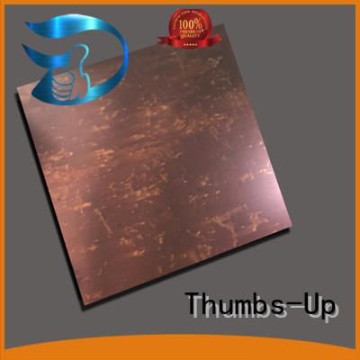 coffee sheet champagne apphire Thumbs-Up Brand stainless steel plate supplier