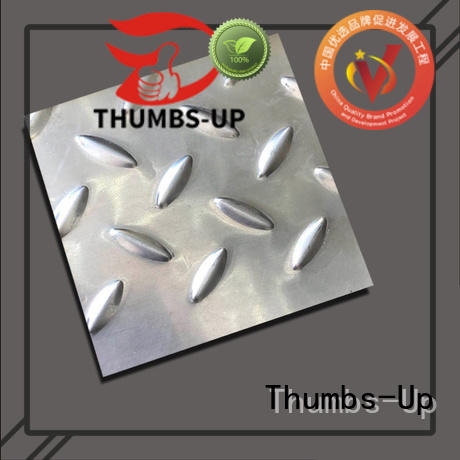 Thumbs-Up 316 checker plate steel for sale for kitchen