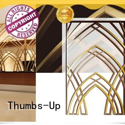 Thumbs-Up copper laser cut metal panels supplier for living room