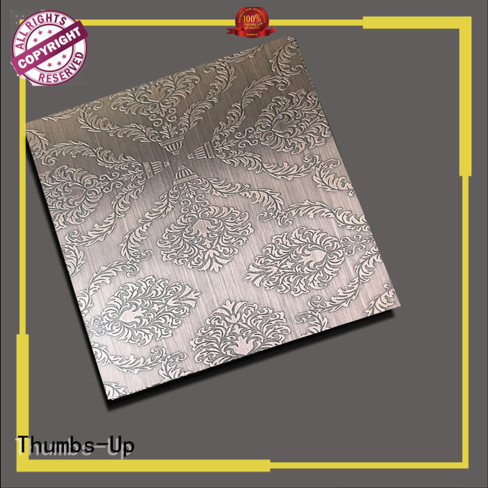 Thumbs-Up lattice stainless steel sheet sizes supplier for cabinet