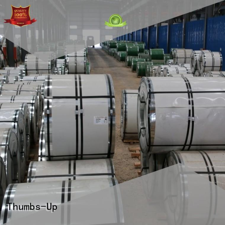 Thumbs-Up annealing galvanized steel factory for escalators