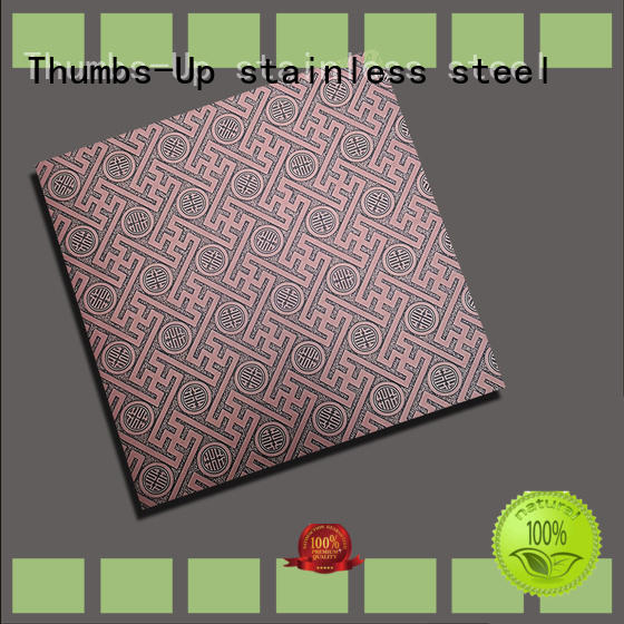 rotary decorative steel sheet metal embossing customized for outdoor