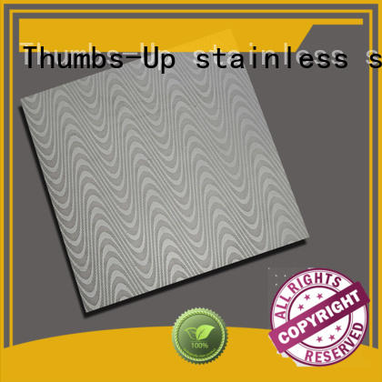 Thumbs-Up peony stainless sheet metal prices customized for building
