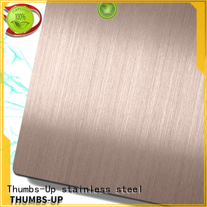 sandblastingrose cut to size stainless steel supplier for hotel Thumbs-Up